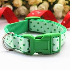 Charming dog decorative ribbon dog collars in MANY styles.