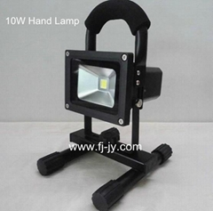 10w led rechargeable hand lamp  emergency light