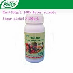 liquid sugar polyol calcium fertilizer