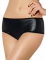 2016 hot open sexy black panty for girls underwear
