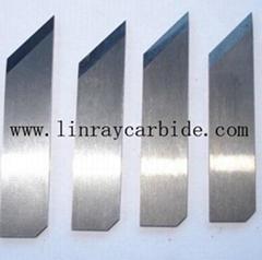 Tungsten carbide knife strip