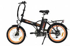 36V 新款電動折疊自行車
