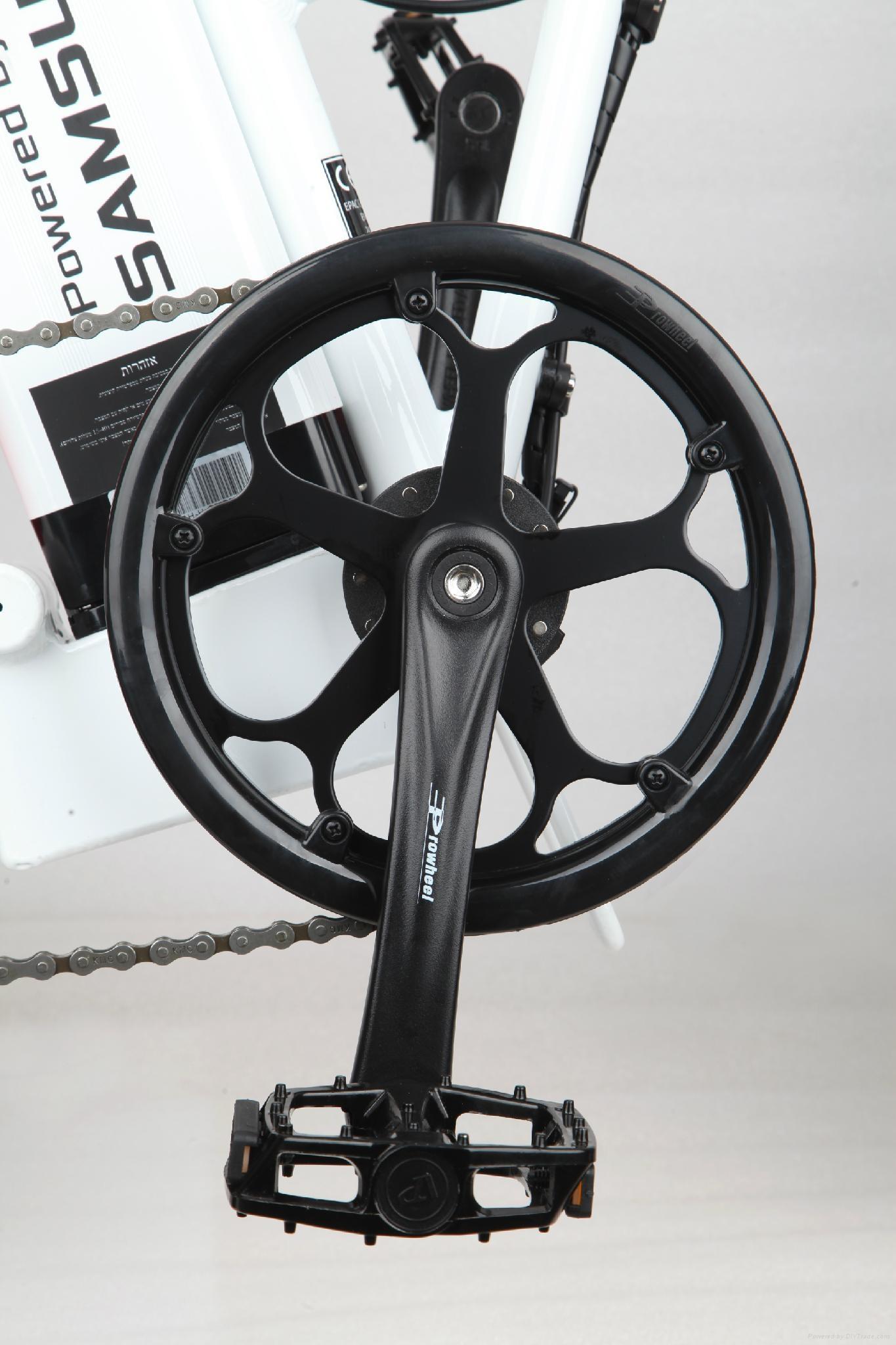 CF-TDN01Z with fat tyre snow folding e-bike (48V350W) 4