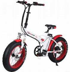 CF-TDN01Z with fat tyre snow folding e-bike (48V350W)