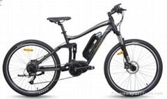 CF-TDB20Z  new electric bike with mid-crank motor  (36V250W)