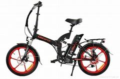 36V 新款电动折叠自行车