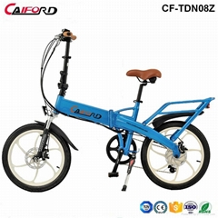 CF-TDN08Z 20inch coyote connect folding electric bike bycycle inner battery