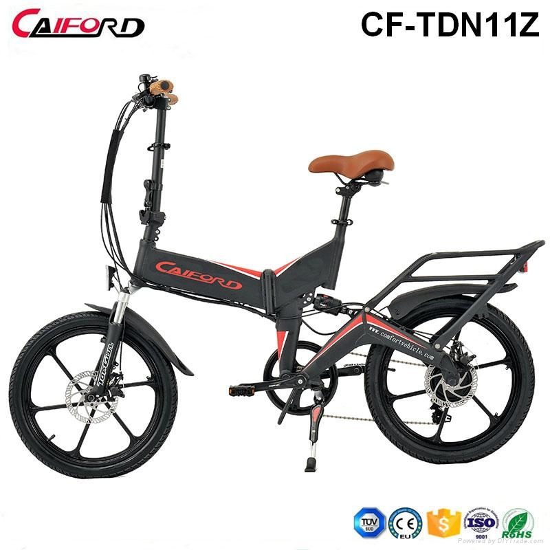 CF-TDN11Z Best electric bike folding mountain bike for sale with sumsung battery 1