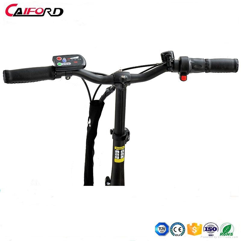 CF-TDR02Z Folding bike bicycle chainless electric bike for kids 2