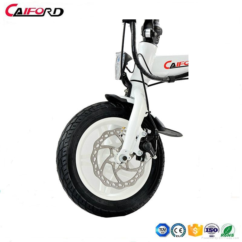 CF-TDR02Z Folding bike bicycle chainless electric bike for kids 3