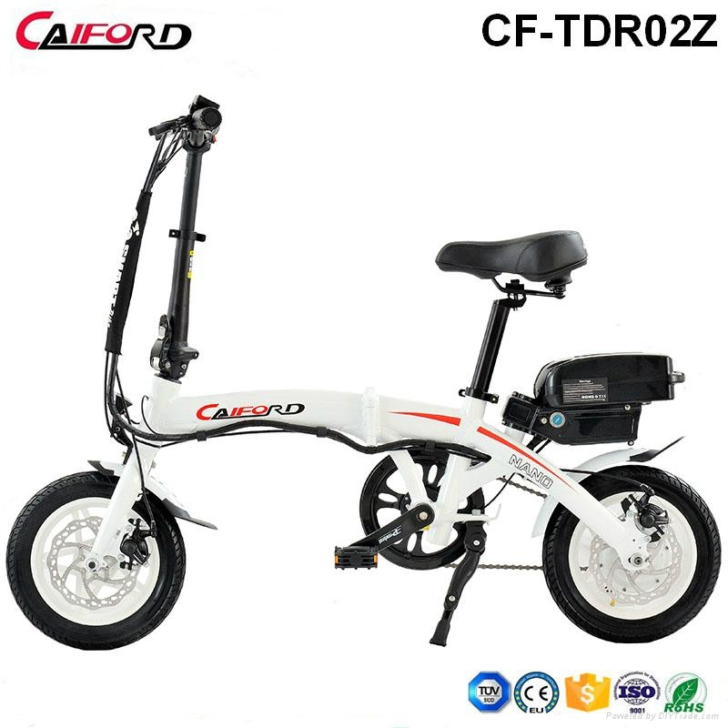 CF-TDR02Z Folding bike bicycle chainless electric bike for kids 1