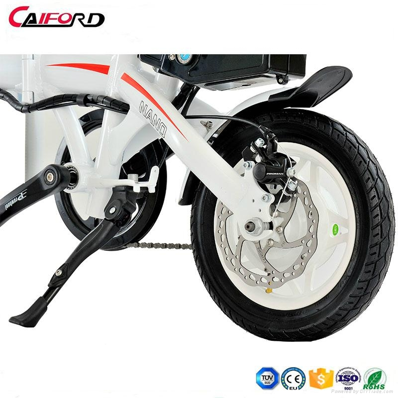 CF-TDR02Z Folding bike bicycle chainless electric bike for kids 5