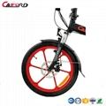 CF-TDN05Z-3 20inch Electric Folding Bike with Alum Wheel 4