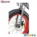 CF-TDN09Z snow beach electric fat bike folding electric bike (36V350W) 4