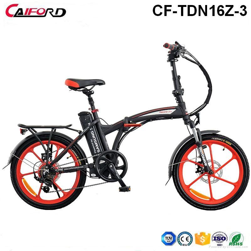 CF-TDN16Z-3 New China aluminum folding electric bike 1