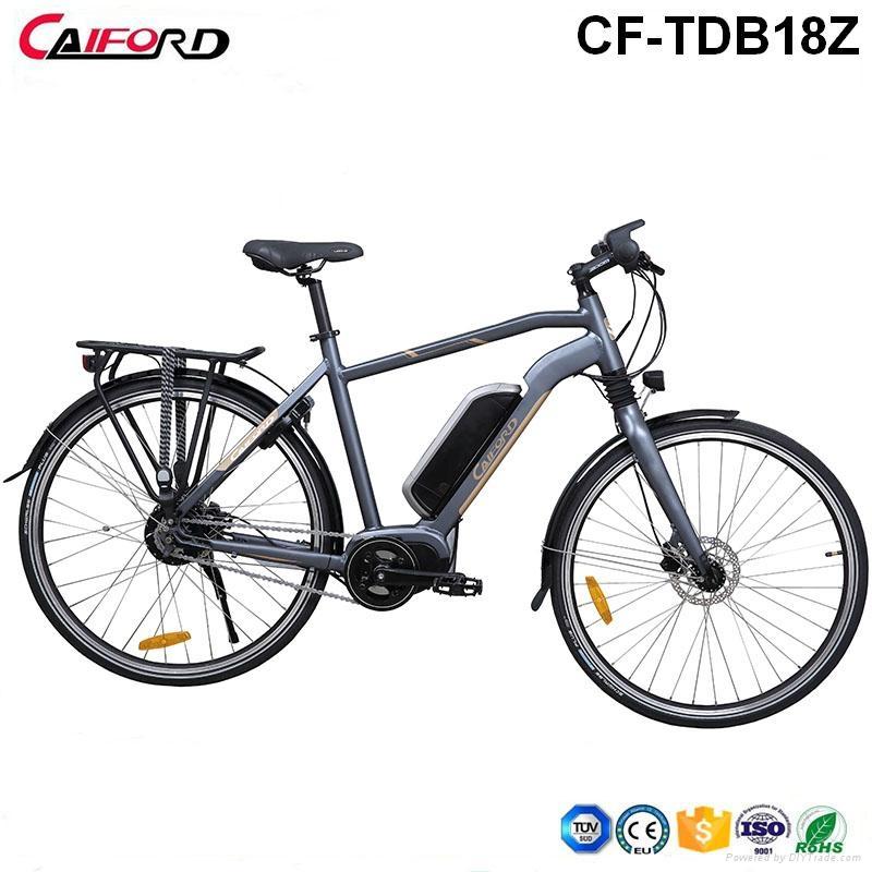 CF-TDB18Z 700C Hihg quantity electric bike with mid =-crank  motor 1
