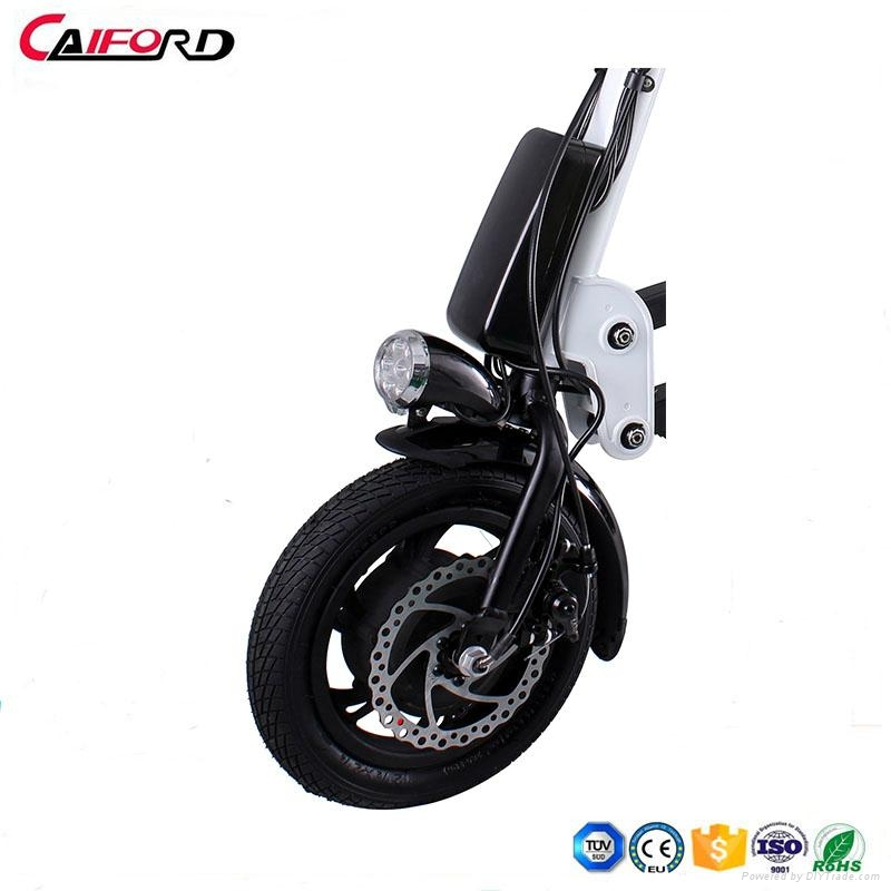 12 inch 36V 9Ah One Second Folding Pedal Assisted Electric Bike 3