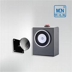 供應明達能常開式防火門控制系統--牆裝電磁釋放器