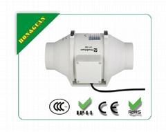 Bathroom ventilation duct fan