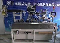 UV點膠烘乾檢測分選AOI自動測試一體機