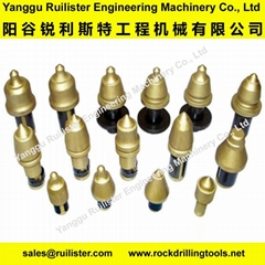 Road Milling Bits, Road Planing Tools, Stabilizer Bits, Cutting Tools