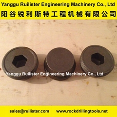 Casing Screw Connections BRV08, Piling Tools, Casing Tools