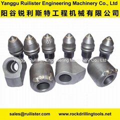 Foundation Drilling Tools,Bullet Teeth,Piling Tools,Conical Bits,Cutting Tools (Hot Product - 1*)