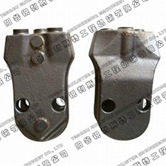 Casing Teeth WS 39 and Holder SH 35 for Piling Tools