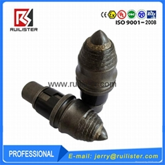Round Shank Chisel Bits for Foundation Drilling Tools