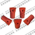 Tapered Chisel Bits for Rock Drilling