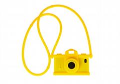 Moschino Camera Design Silicone Case for iPhone 5/5S