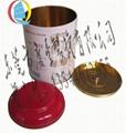 圓形馬口鐵專用本山茶葉包裝禮盒 2