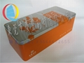 Tinplate CHINESE tea packing box