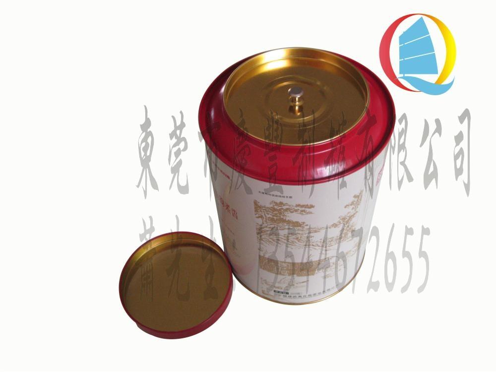 Metal packaging can for tea 2