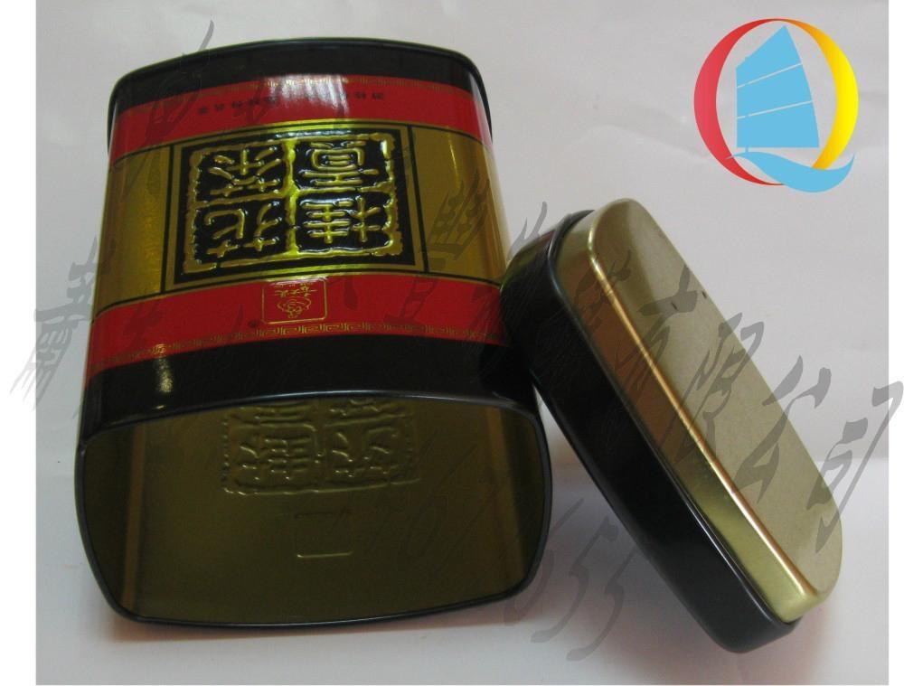 馬口鐵高檔桂花貢茶金屬包裝鐵罐 1