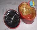 橢圓形馬口鐵專版中秋月餅包裝鐵