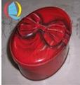 橢圓形馬口鐵專版中秋月餅包裝鐵盒 2