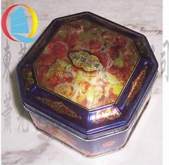 八角形中秋節專版廣式月餅食品盒