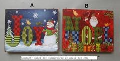 Holiday Decration Holiday Decorative Items Wood Crafts Festive Hanging Decoratio
