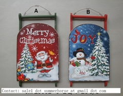 Wood Holiday Decoration Craft Metal Holiday Decoration Craft Christmas Decor