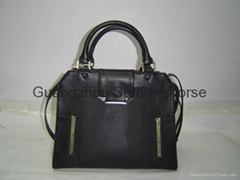 PU Lady Handbag and Wallet of Fashionable Design and High Quality