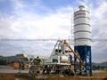 HZS35小型工程混凝土搅拌站 1