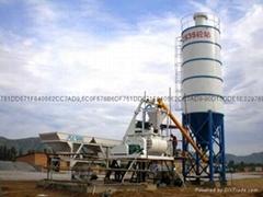 HZS35小型工程混凝土搅拌站