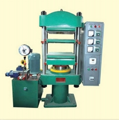Rubber press machine