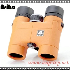 Wide-Angle Central Focus Orange Asika 8x32 Outdoors Sports  Binoculars