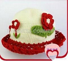 handmade crochet baby hat (PYBH001)