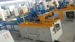 Transformer core cut to length machine