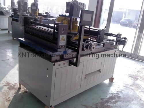 Transformer core cutting machine