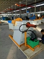 Compact silicon steel cutting machine line