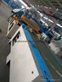 Compact step lap CRGO mitred core cutting machine